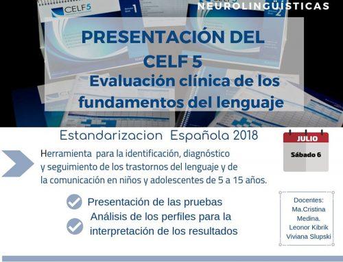 Presentación del CELF 5